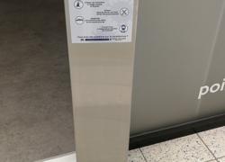 borne distributeur gel